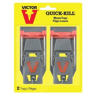 2pk Quick Kill Mouse Trap - Victor