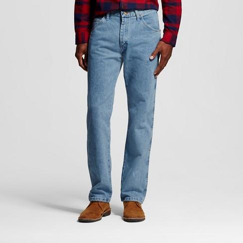 Wrangler Authentics Men Regular Denim Jeans Size 54 x 30 Black Cotton Work New