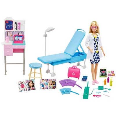 ​Barbie Careers Medical Doctor Doll Playset