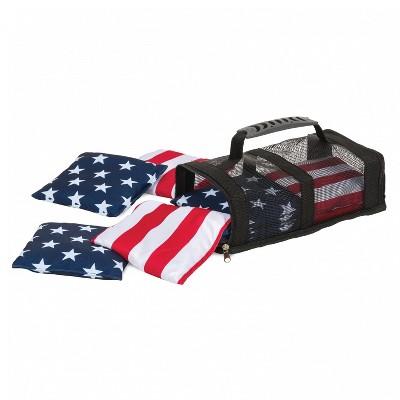 EastPoint Sports 1-1-16694-DS Premium Stars & Stripes Cornhole Cloth Bean Bags