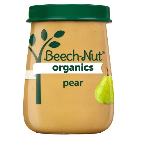 Beech-Nut Organics Pears Baby Food Jar - 4oz - image 1 of 3