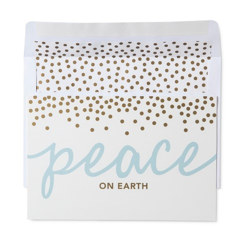 American Greetings 40ct Peace Holiday Boxed Cards - image 1 of 1