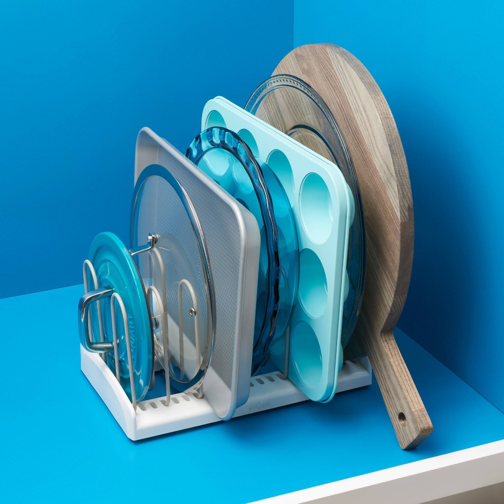 """Image of """"YouCopia StoreMore 11"""""""" Pan & Lid Rack"""""""