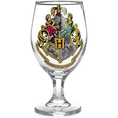 Paladone Products Ltd. Harry Potter Hogwarts Crest Color Change 14oz Water Glass