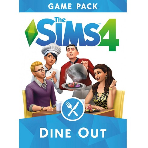 The Sims 4: Dine Out Game Pack - PC Game Digital - image 1 of 1