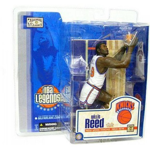 McFarlane Toys NBA New York Knicks Sports Picks Legends Series 1 Willis Reed Action Figure [White Jersey] - image 1 of 4