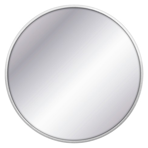 "28"" Round Decorative Wall Mirror Silver - Project 62™ - image 1 of 4"