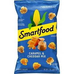 Smartfood Caramel & Cheddar Mix Flavored Popcorn - 7oz