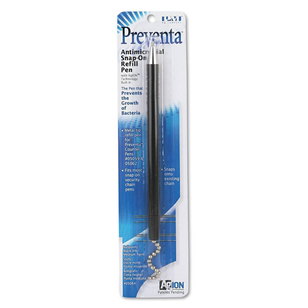 Image of PM Company 1ct Snap-on Refill for Preventa Deluxe Counter Pen Black