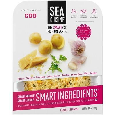 Sea Cuisine Potato Crusted Cod Fillets - Frozen - 10oz