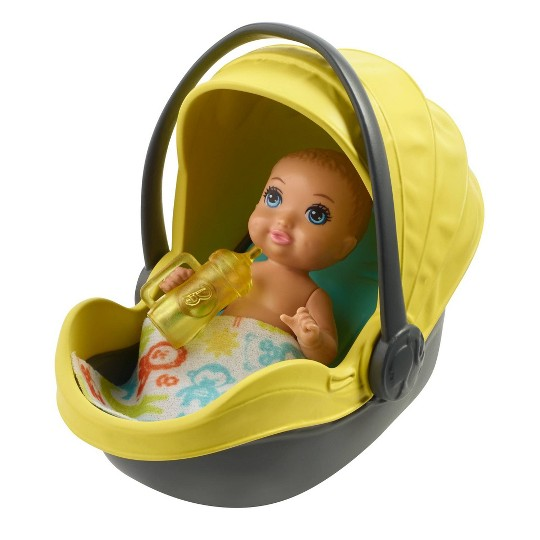 Barbie Skipper Babysitter Inc. Stroller and Baby Playset image number null