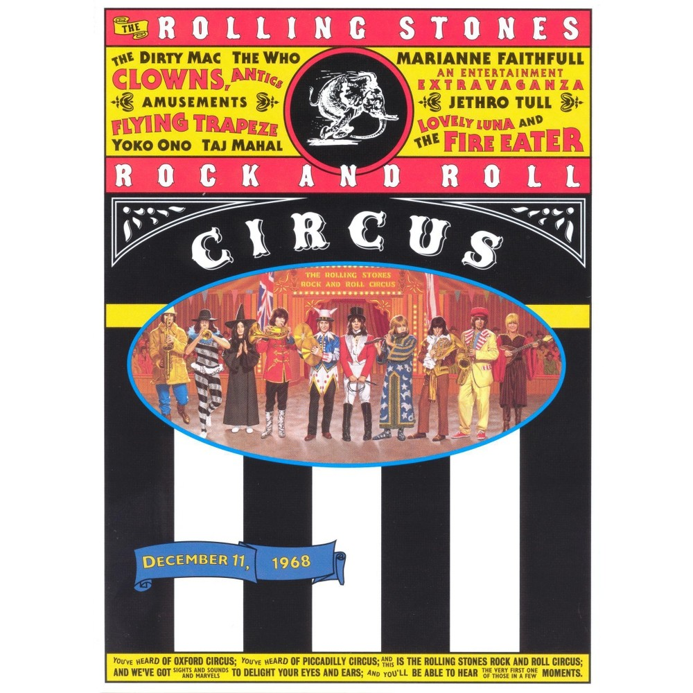Rock & Roll Circus (Dvd), Movies