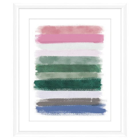 Color Brush Lines Ii 18X22 Wall Art - image 1 of 1