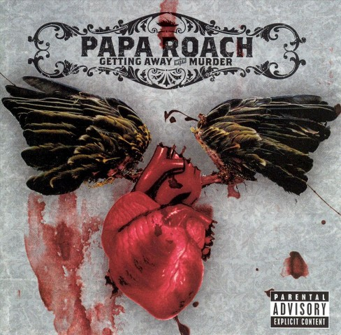 Papa roach - Getting away with murder [Explicit Lyrics] (CD) - image 1 of 1