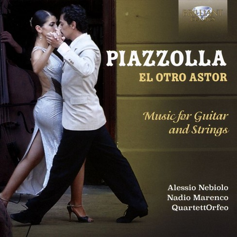 Alessio nebiolo - Piazzolla:El otro astor music for gui (CD) - image 1 of 1
