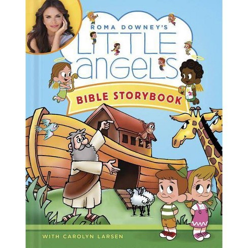 Little Angels Bible Storybook - (Roma Downey's Little Angels) by  Carolyn Larsen (Hardcover) - image 1 of 1
