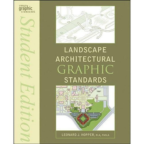 Landscape Architectural Graphic Standards - (Ramsey/Sleeper Architectural Graphic Standards) (Paperback) - image 1 of 1