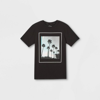 Boys' Graphic Short Sleeve T-Shirt - art class™ Black