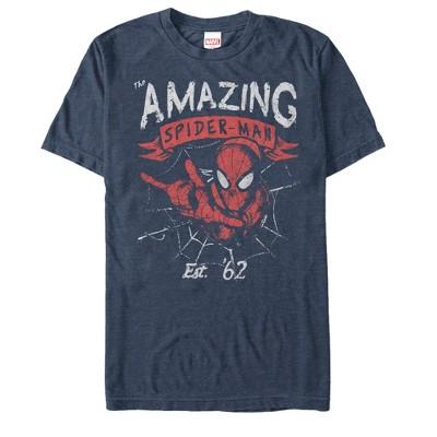 Men's Marvel Spider-Man Est 62 T-Shirt