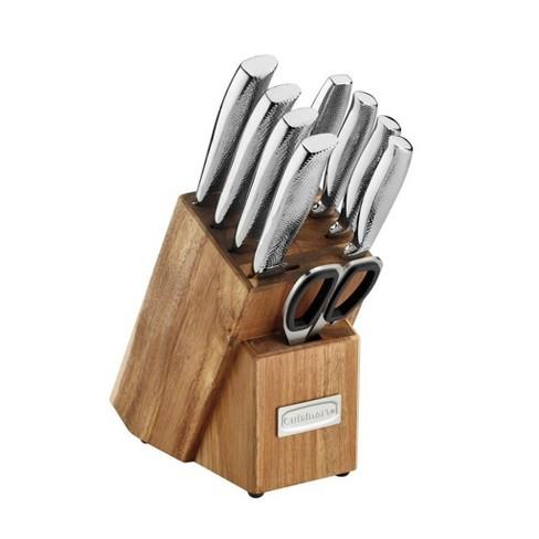 Cuisinart 10pc Hammered Knife Block Set - image 1 of 4