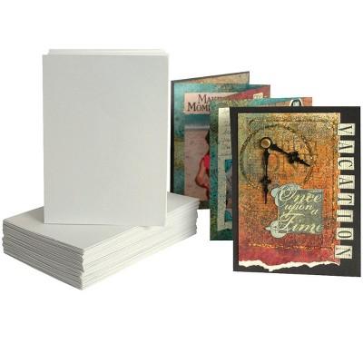 Arnold Grummer Zig-Zag Book, 4-1/2 x 5-3/4 Inches, White, pk of 12
