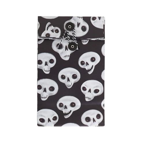 Halloween Skull Paper Treat Bag - Hyde & EEK! Boutique™ - image 1 of 1
