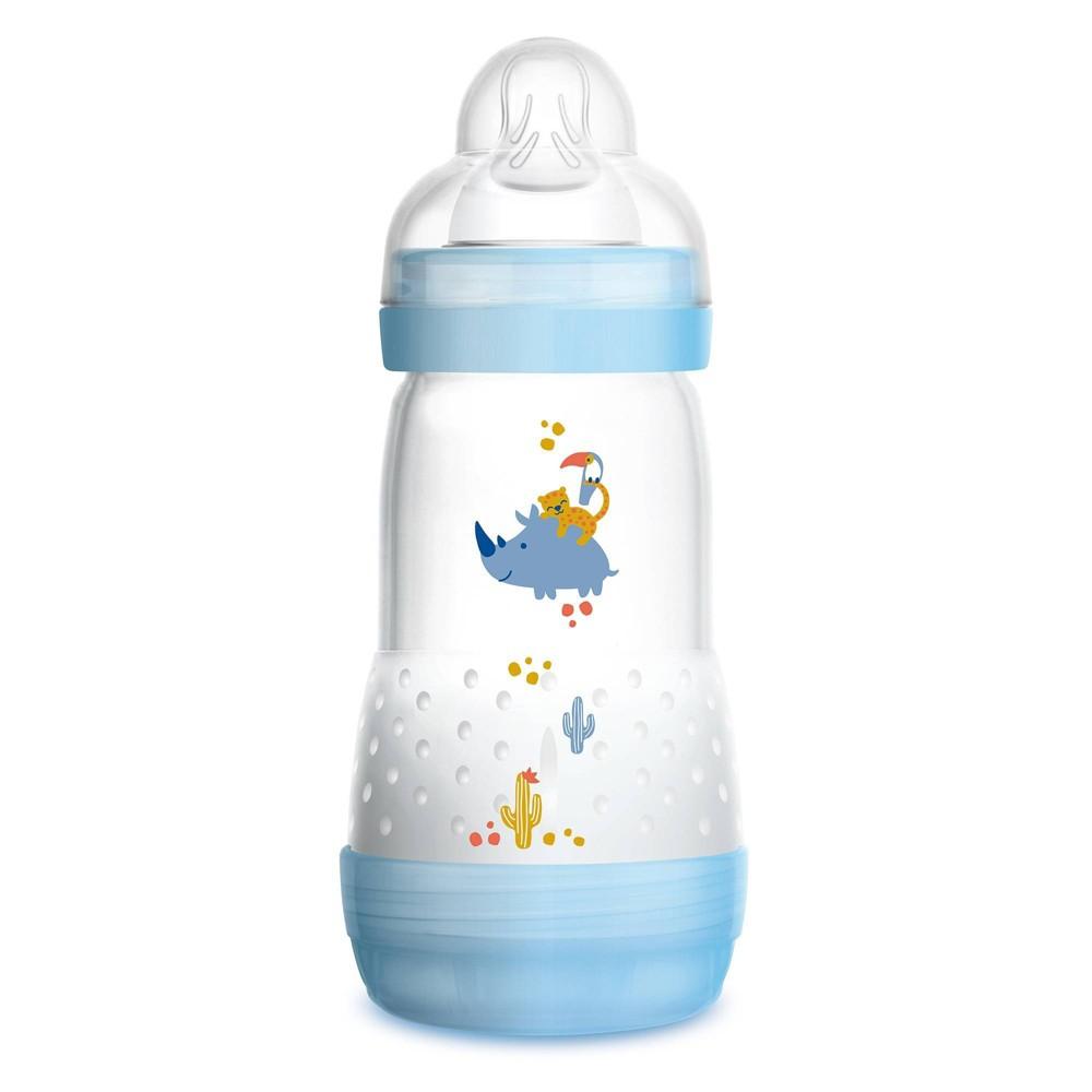 Image of MAM Anti-Colic Bottle - 9oz Blue