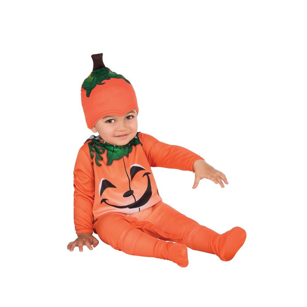 Toddlers' Pumpkin Halloween Costume 2T/4T - Rubie's, Toddler Unisex, Size: 2T-4T, Orange