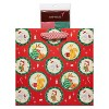Large Papyrus Christmas Holiday Friends Large Gift Bag and Tissue Paper Red and Green - image 2 of 3