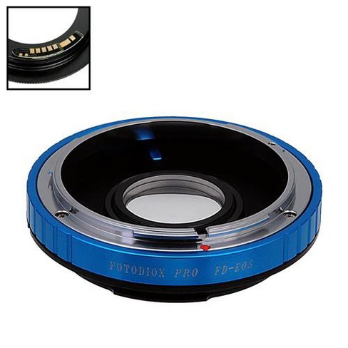 Fotodiox Pro Lens Adapter for Canon FD/FL 35mm SLR Lens to Canon EF/EF-S Camera - image 1 of 4