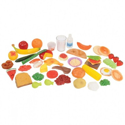 Kaplan Early Learning Healthy Eating Food Set  - 48 Pieces