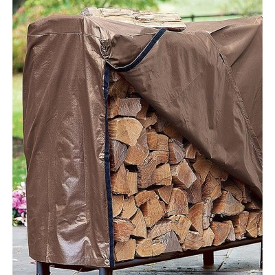 Plow & Hearth - Heavy Duty Medium All Weather Wood Rack Cover