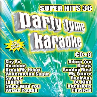 Party Tyme Karaoke - Super Hits 36 (CD)