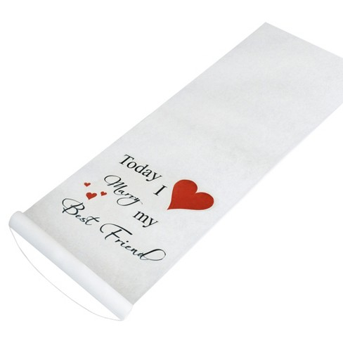 Classic Wedding Aisle Runner - image 1 of 1