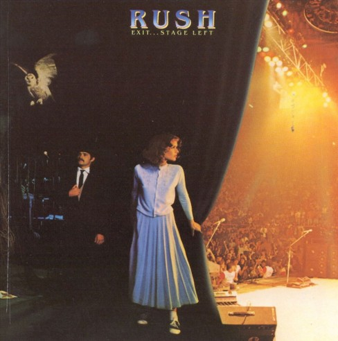 Rush - Exit stage left (CD) - image 1 of 3