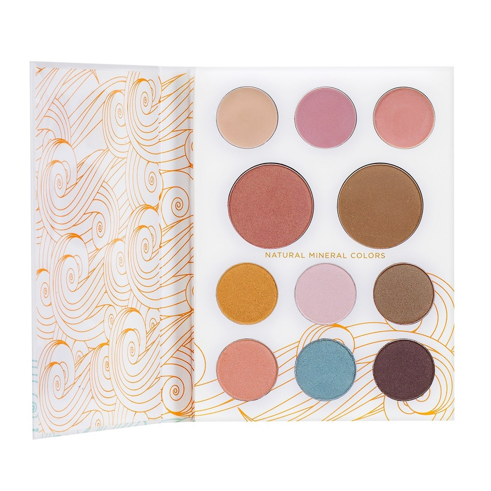Pacifica Solar Complete Color Mineral Palette .8oz, Multi-Colored
