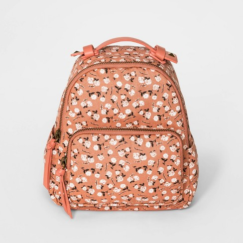 Girls' Floral Print Mini Backpack - art class™ - image 1 of 3