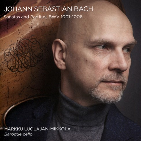 Ma luolajan-mikkola - Bach:Sons & partitas bwv 1001-1006 (CD) - image 1 of 1