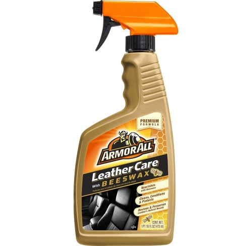 Armor All 16oz Leather Care with Beeswax Automotive Interior Cleaner - image 1 of 4