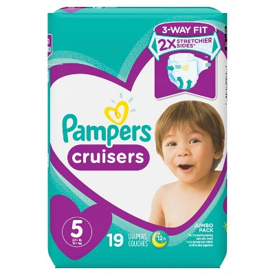 Diapers: Pampers Cruisers