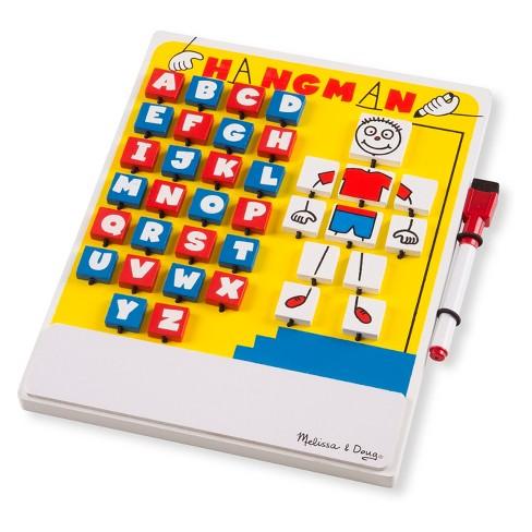 993de338c Melissa & Doug® Flip to Win Travel Hangman Game - White Board, Dry-Erase  Marker