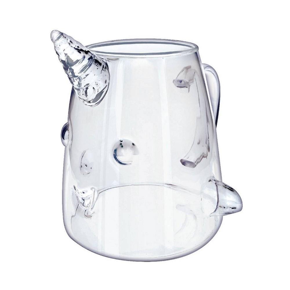 Image of Elf Mr. Narwhal 18oz Glass Mug