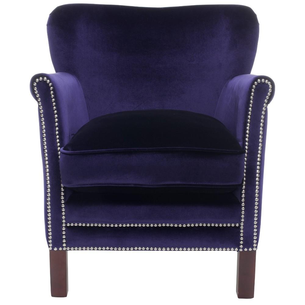 Jenny Arm Chair Royal Blue - Safavieh