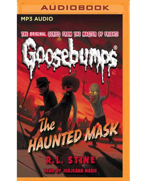 Haunted Mask (MP3-CD) (R. L. Stine) - image 1 of 1
