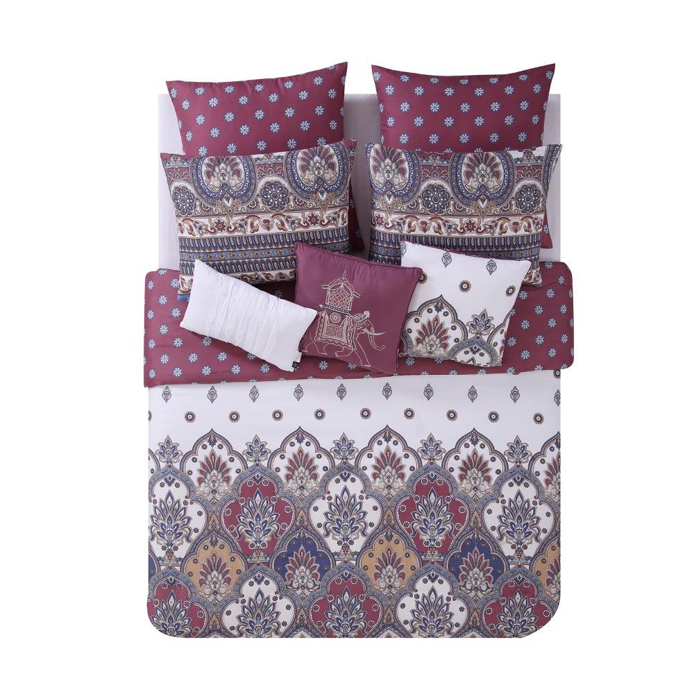 8pc Queen Adelia Comforter Set - Vcny Home, Multicolored