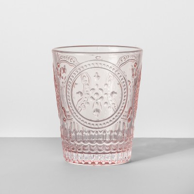 9.1oz Glass Tumbler Pink - Opalhouse™