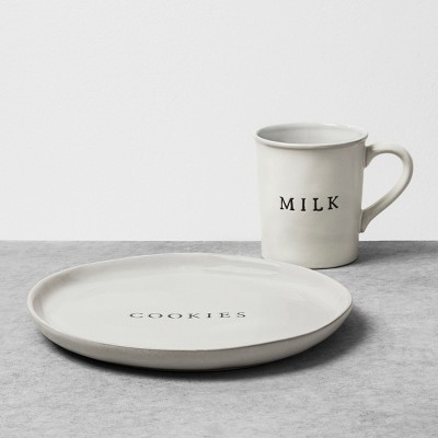 Plate and Mug Dinnerware Set - Cookies and Milk - Hearth & Hand™ with Magnolia