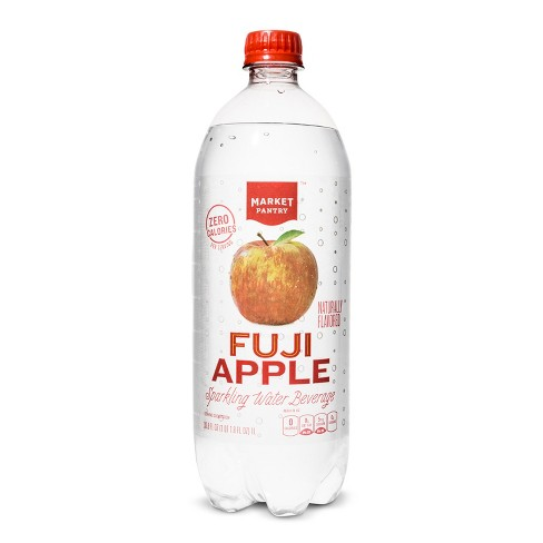 Fuji Apple Sparkling Water - 1 L Bottle - Market Pantry™ - image 1 of 2