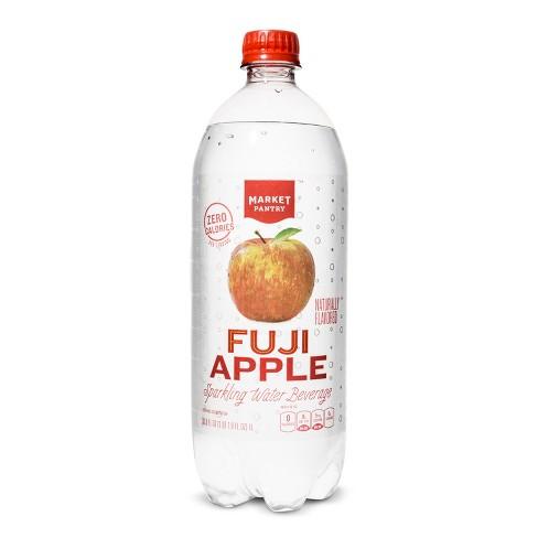 Fuji Apple Sparkling Water - 1 L Bottle - Market Pantry™ - image 1 of 2