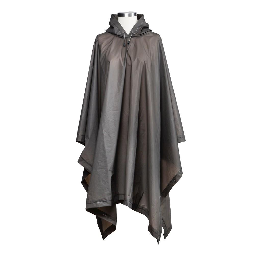 Image of ShedRain Hooded Rain Ponchos - Gray